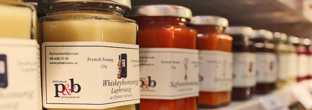 P&Bs Honung med olika smaker