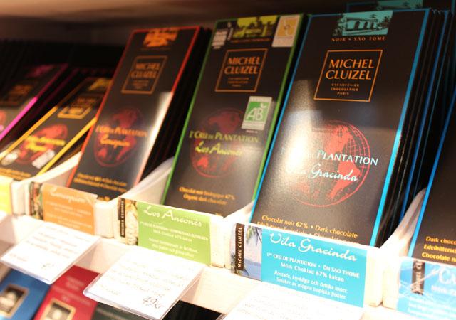Mörk choklad från franska Michel Cluizel