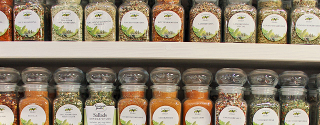 Kryddor från Krusmyntagården