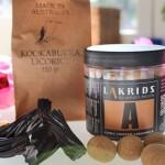 Kookaburra lakrits från Australien och chokladdoppad lakrits från Lakrids by Johan Bülow