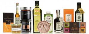 olivoljor, såser, balsamvinäger mm - massa delikatesser & goda presenter hos P&B!