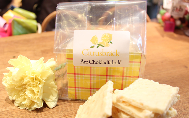 Citrusbräck från Åre Chokladfabrik