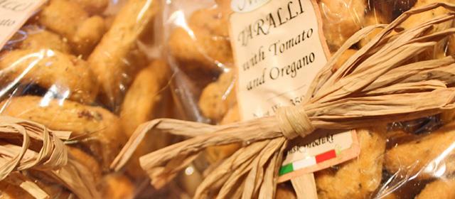 Italienska snacks- taralli