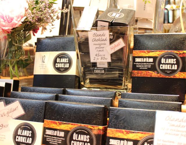 Praliner från Ölands Choklad