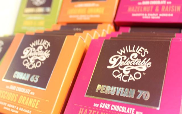 Chokladkaka från Willie's Cacao