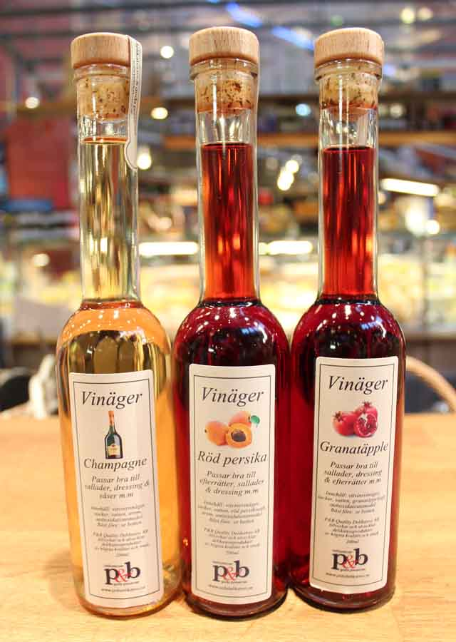 P&Bs smaksatt vinäger