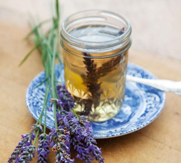 Lavendersyrup