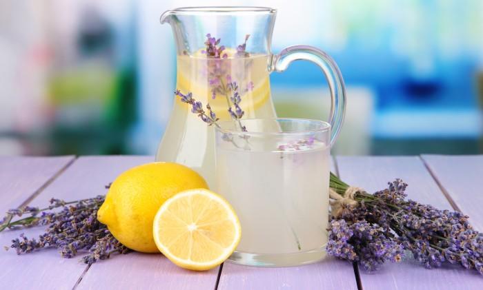 lavendel lemonad